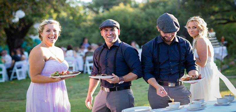 wedding catering Perth